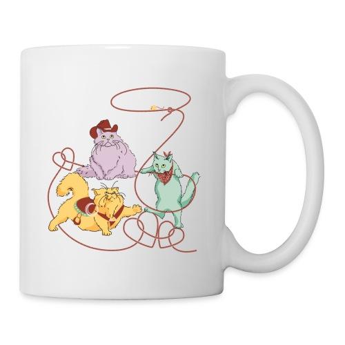 Rodeo Cats by Marlene P - Coffee/Tea Mug