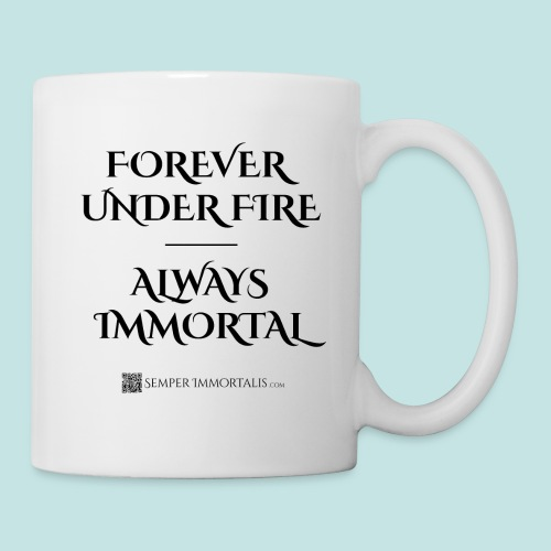 Always Immortal (black) - Coffee/Tea Mug
