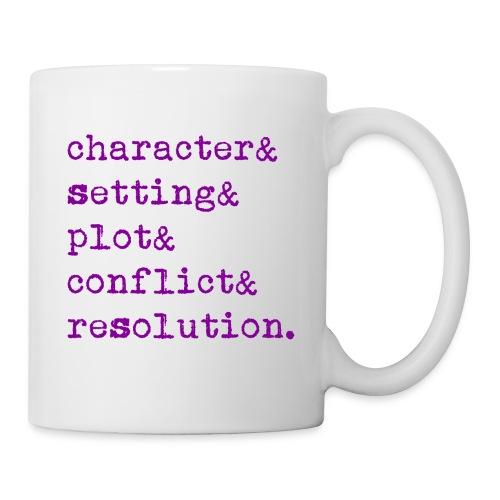 5 Elements of a Story - Coffee/Tea Mug