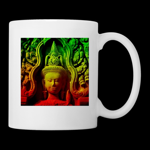 Cambodian stone sculpture - Coffee/Tea Mug