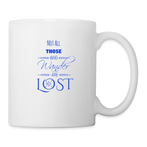 LTBA Not All Those Who Wander Are Lost - Coffee/Tea Mug