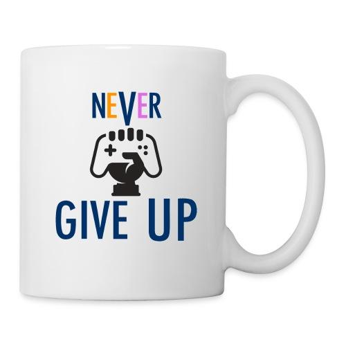 GAMING GUY: NeVeR GIVE UP - Coffee/Tea Mug