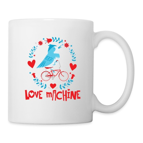 Cute Love Machine Bird - Coffee/Tea Mug