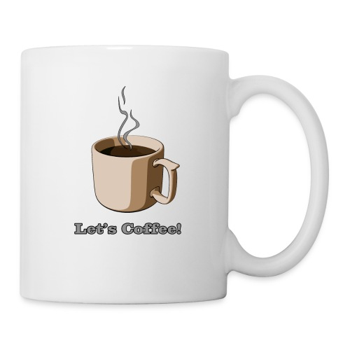 Let's Coffee! (Engrish) - Coffee/Tea Mug