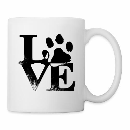 Luv Paw Print - Coffee/Tea Mug