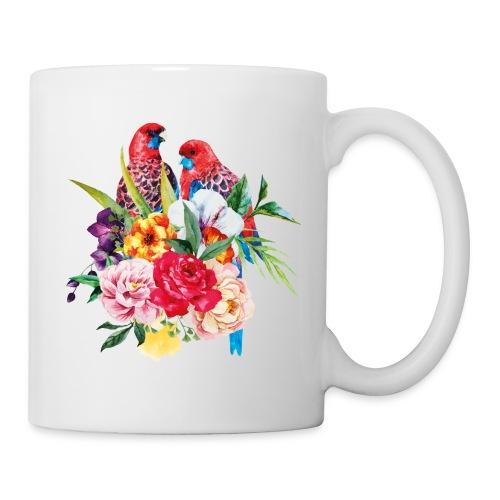 Luminous Sweet Tropical Toucan Watercolor Print - Coffee/Tea Mug