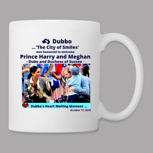 Prince Harry and Meghan Visit Dubbo - 17/10/2018 - Coffee/Tea Mug