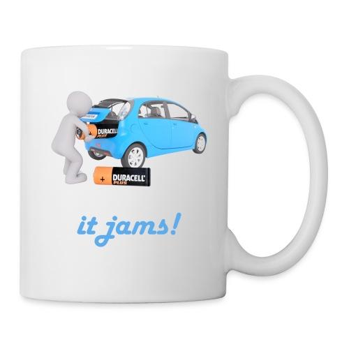 Limited Edition! E-car   Technic Style - Coffee/Tea Mug