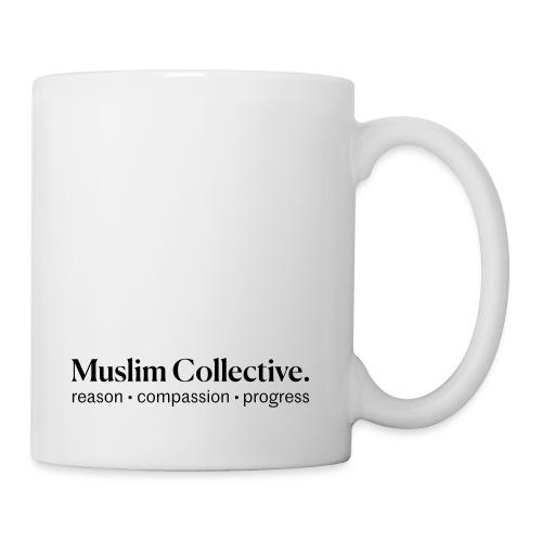 Muslim Collective Logo + tagline - Coffee/Tea Mug