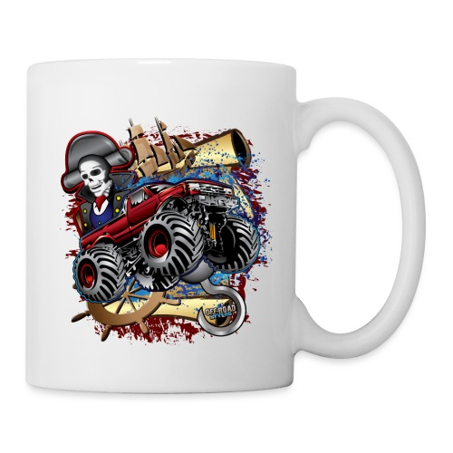 Pirate Monster Truck - Coffee/Tea Mug
