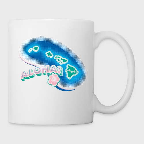 Hawaii Kawaii Cute Beach - Coffee/Tea Mug