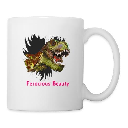T Rex Ferocious Beauty - Coffee/Tea Mug