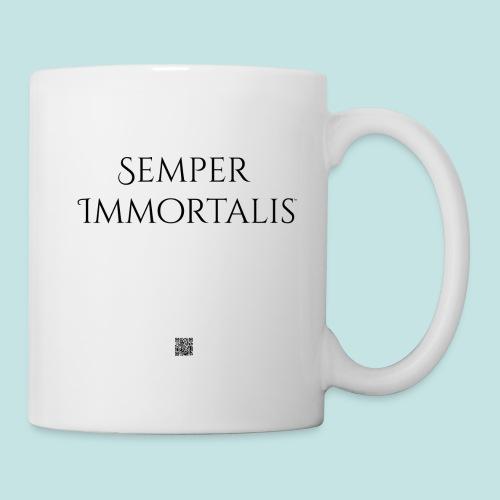 Semper Immortalis (black) - Coffee/Tea Mug