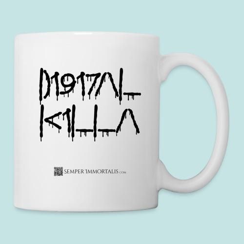 Digital Killa (black) - Coffee/Tea Mug