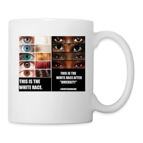 White Genocide2 - Coffee/Tea Mug