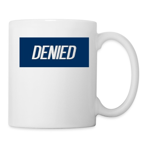 DENIED blauw - Coffee/Tea Mug