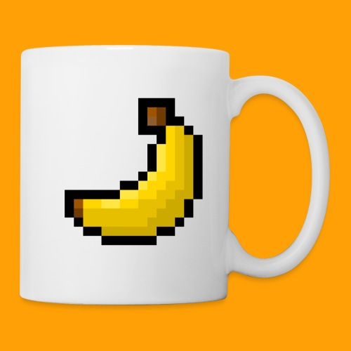 8-Bit Banana - Coffee/Tea Mug
