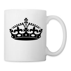 KEEP CALM CROWN - Coffee/Tea Mug