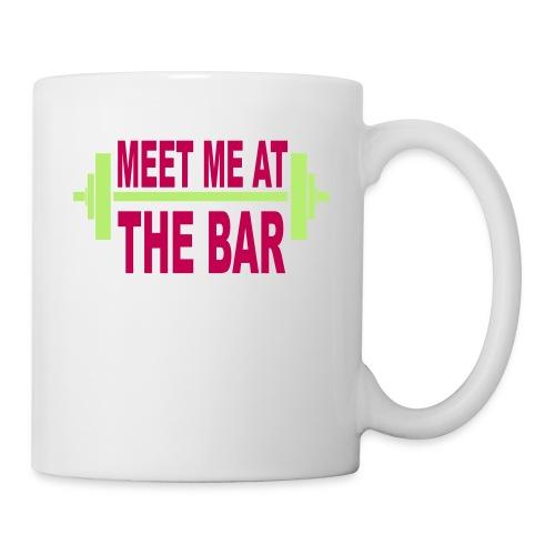 meet_me_at_the_bar_2_spreadsheet - Coffee/Tea Mug