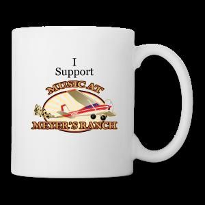 I Support - Music at Meyer's Ranch - Coffee/Tea Mug