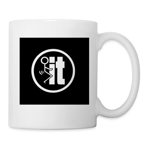 fuck it round tshirt - Coffee/Tea Mug