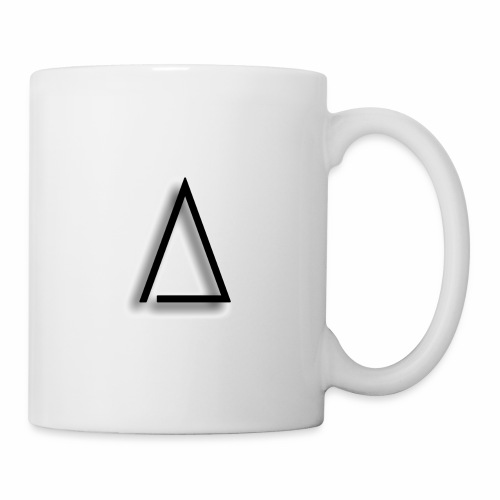 A / Tri / illuminated / Alpha / triathlete - Coffee/Tea Mug