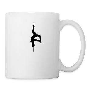 Inverted Pole Dancer - Coffee/Tea Mug