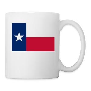 2000px Flag of Texas svg - Coffee/Tea Mug