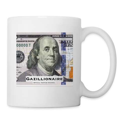GAZILLIONAIRE with BENJAMIN FRANKLIN - Coffee/Tea Mug