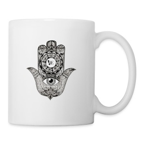 Ezina Hamsa Design - Coffee/Tea Mug