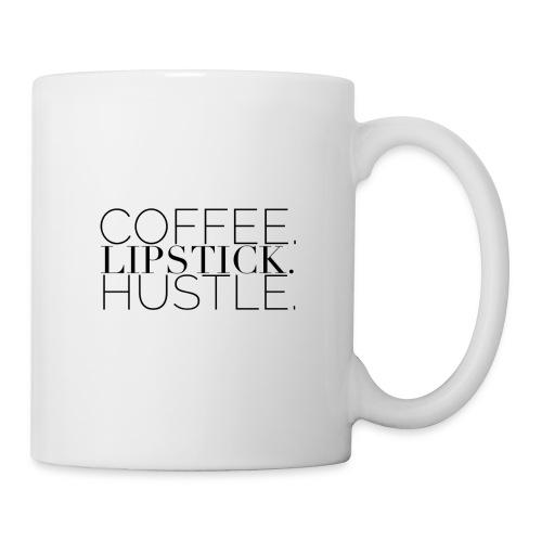 Coffee. Lipstick. Hustle. - Coffee/Tea Mug