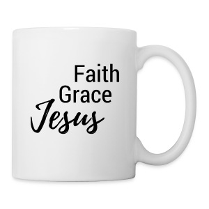 Faith Grace Jesus - Coffee/Tea Mug