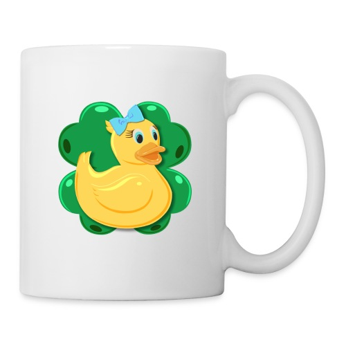 LuckyDuckyLogo - Coffee/Tea Mug