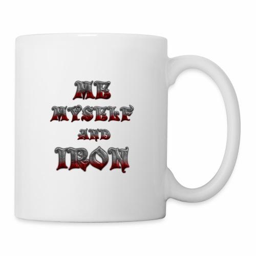 me myself and iron - Coffee/Tea Mug