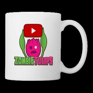 ZombieTulips with play button - Coffee/Tea Mug