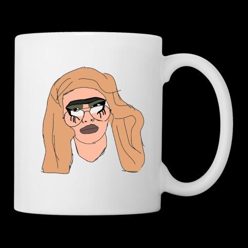 Clammy Tammy SEXY unibrow - Coffee/Tea Mug