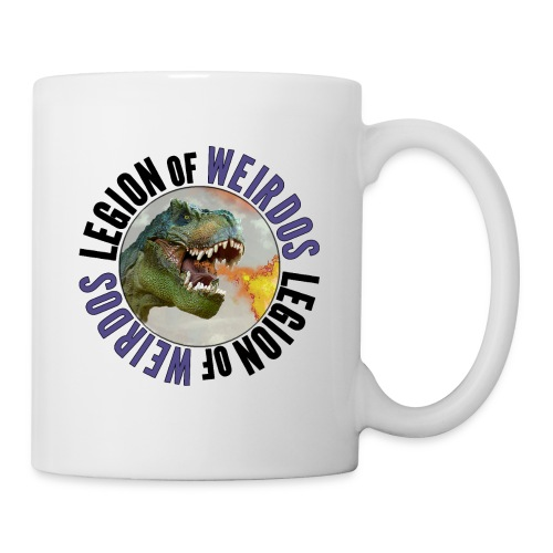 Legion of Weirdos Dino Circle - Coffee/Tea Mug