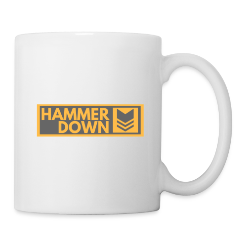 Hammer Down Logo (Large) - Coffee/Tea Mug