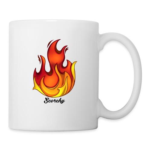 Scorchy Logo Black - Coffee/Tea Mug