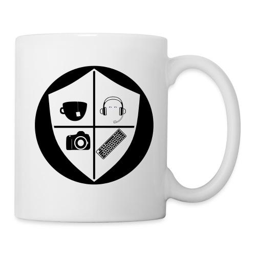 Punk Who Drinks Tea Crest (Inverted) - Coffee/Tea Mug