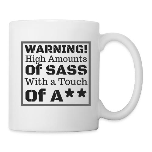 Warning! Black font - Coffee/Tea Mug