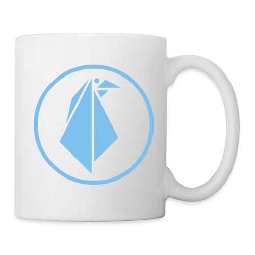 EMPEROR PENGUINS Blue Penguin Logo - Coffee/Tea Mug