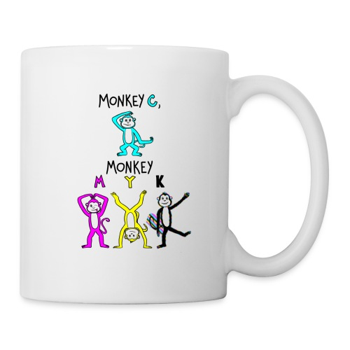 monkey see myk - Coffee/Tea Mug