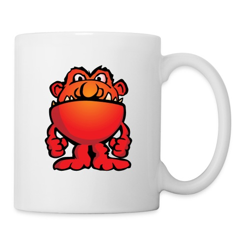 Cartoon Monster Alien - Coffee/Tea Mug
