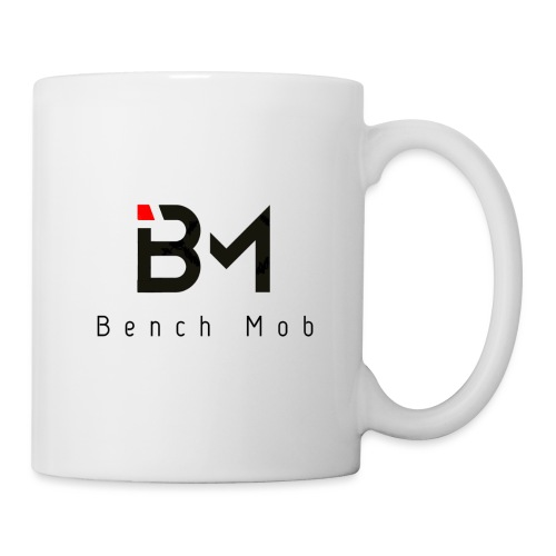 Bench Mob Logo (black) - Coffee/Tea Mug