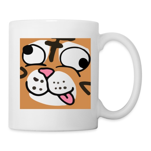 Derp tiger - Coffee/Tea Mug