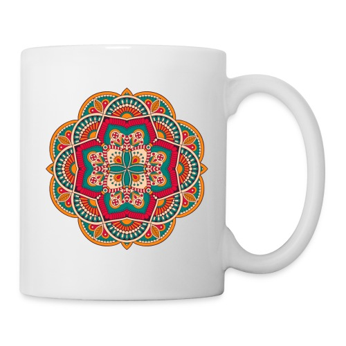 Yoga Mandala Design Shirt & Accessories - Coffee/Tea Mug