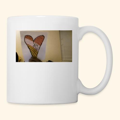 cool heart design - Coffee/Tea Mug