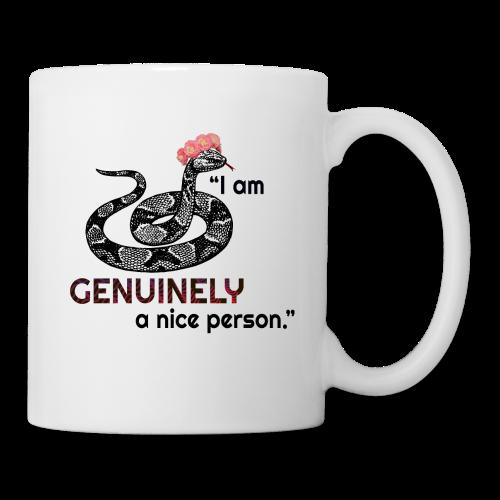 Snake funny t-shirt. - Coffee/Tea Mug