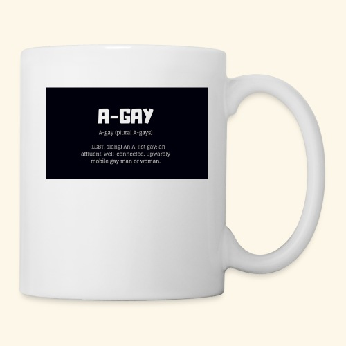 A-GAY Definition Merchandise! Mugs, Trucker Hats - Coffee/Tea Mug